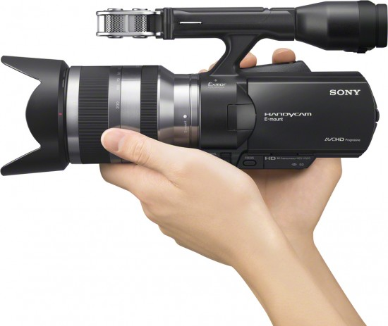 Panasonic HDC-Z10000 Camcorder Shoots Full HD 2D and 3D